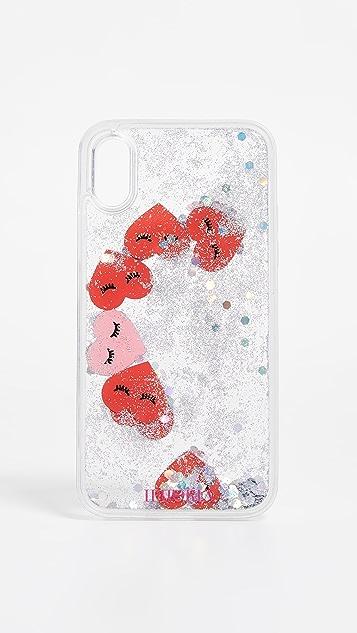 Iphoria 心形透明 iPhone X 手机壳