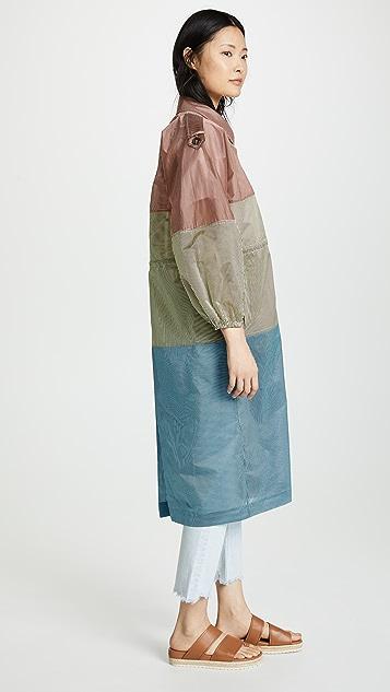 Isa Arfen Sahara 双排扣风衣