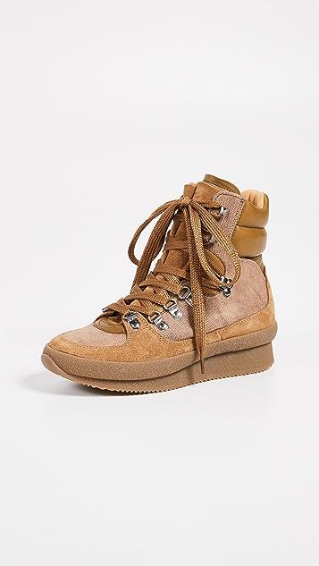 Isabel Marant Brendty 绒面革登山靴