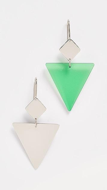 Isabel Marant 三角形耳环