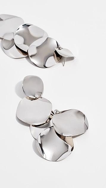 Isabel Marant 珠皮呢耳环