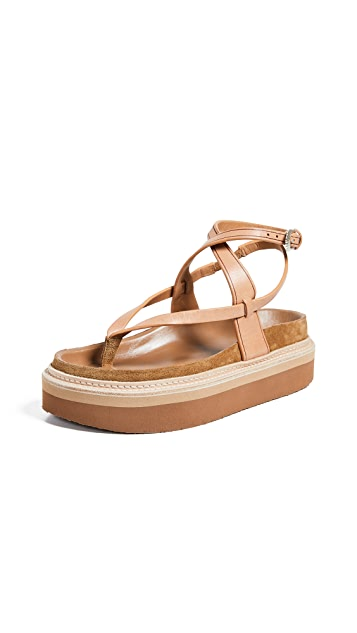 Isabel Marant Esely 厚底凉鞋