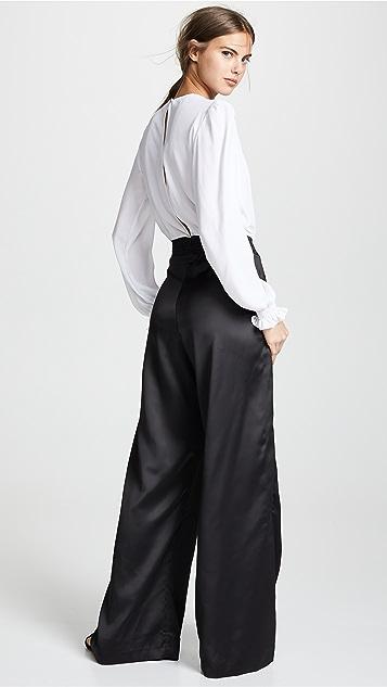 Isolda Zinnia V 领连身衣