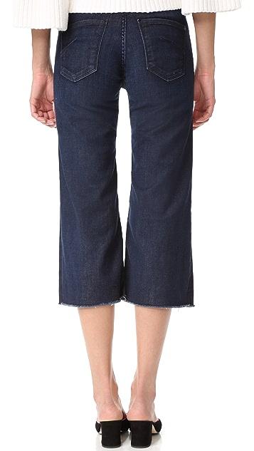 James 牛仔裤 Carlotta 高腰磨边牛仔裤