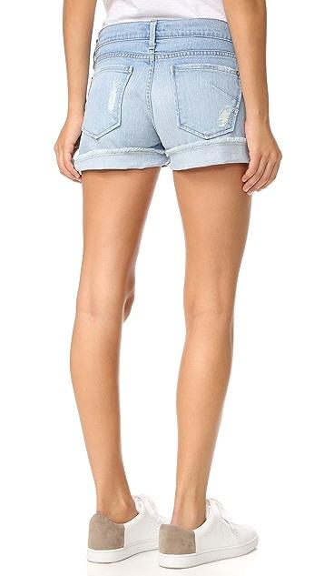 James 牛仔裤 休闲款式男孩风短裤