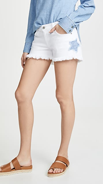 James 牛仔裤 Baggy Beau 男孩风短裤
