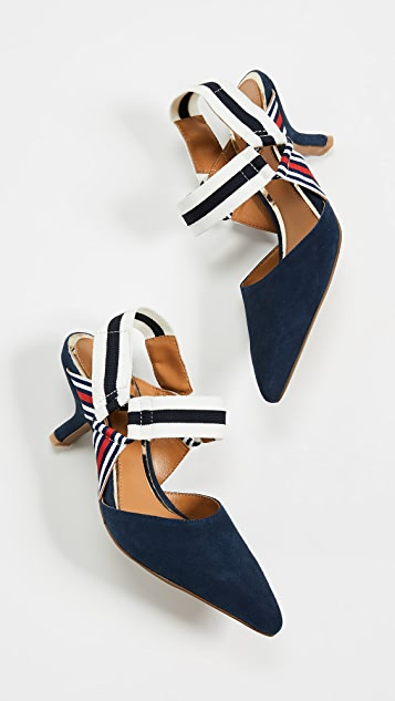 JAGGAR 活力风格露跟浅口鞋