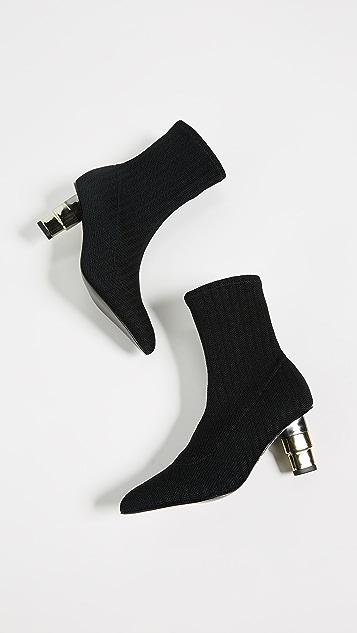 JAGGAR 针织袜式短靴