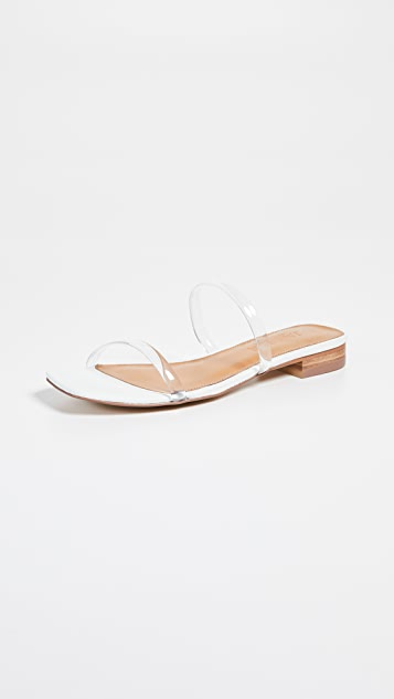JAGGAR 双饰带凉鞋