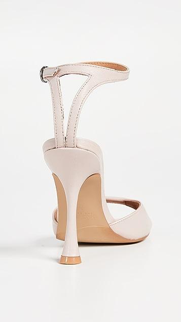JAGGAR Hourglass 踝带凉鞋