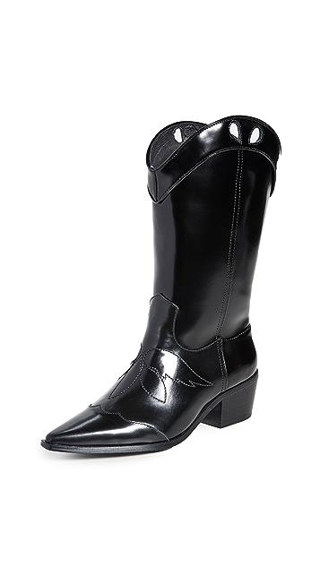 JAGGAR 西部风格高筒靴