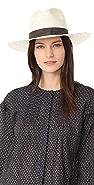 Janessa Leone Marcell 可折叠短帽沿费朵拉帽