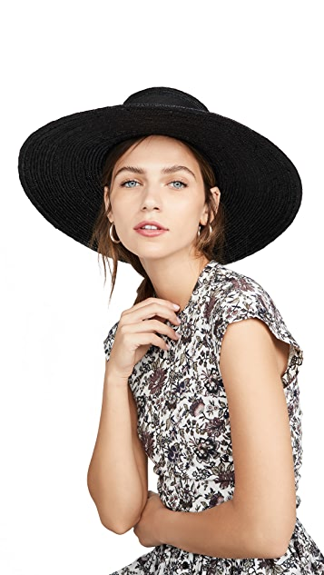 Janessa Leone Desi Boater 帽子