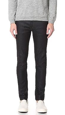 제이브랜드 데님 스키니 진 J BRAND Mick Raw Denim Skinny Jeans