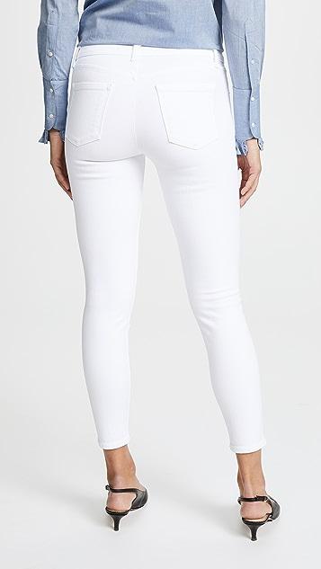 J Brand 835 中腰贴身牛仔裤