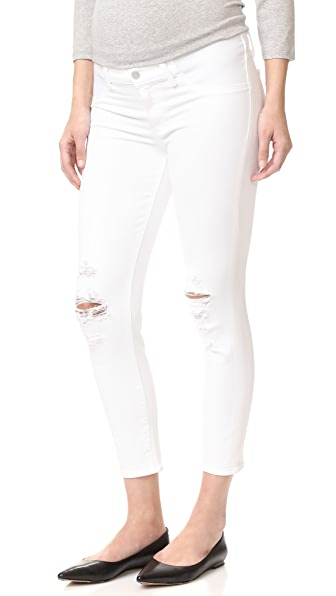 J Brand Mama J 孕妇装贴身牛仔裤