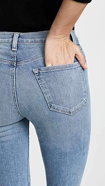 J Brand Alana 高腰九分紧身牛仔裤