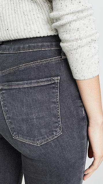 J Brand Maria 高腰紧身牛仔裤