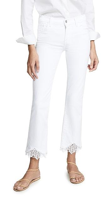J Brand Selena 中腰九分牛仔裤