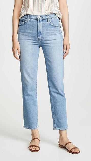 J Brand Jules 高腰直筒牛仔裤