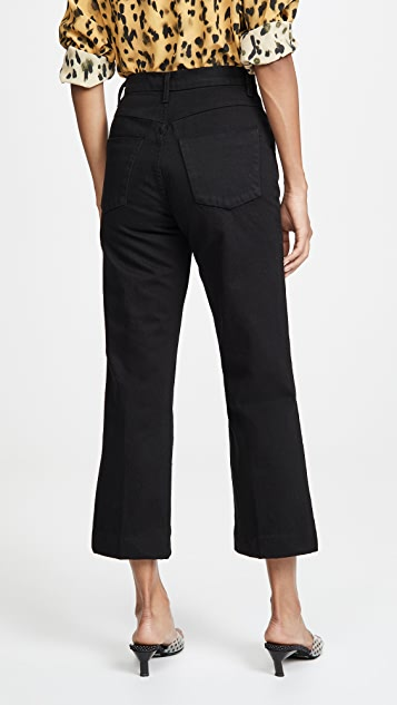 J Brand Joan 高腰九分裤