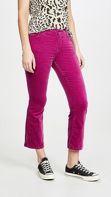 J Brand Selena 中腰微喇牛仔裤
