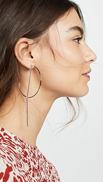 Justine Clenquet Milla 圈式耳环