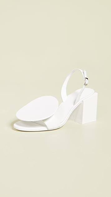 Jacquemus Les Rond Carre 凉鞋