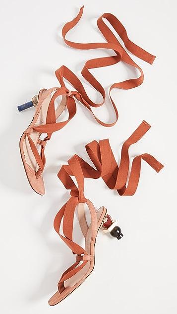 Jacquemus Les Sandales Capri 凉鞋