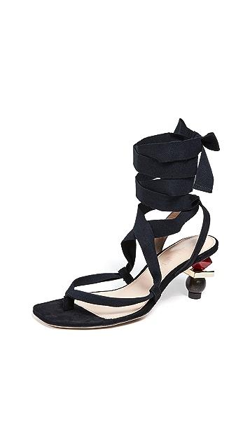 Jacquemus Les Capri 凉鞋