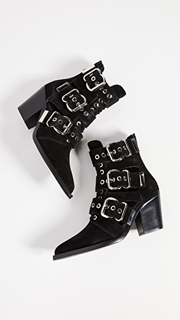 Jeffrey Campbell Caceres 搭扣短靴