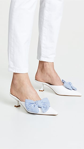 Jeffrey Campbell Adorn 方锥矮跟穆勒鞋