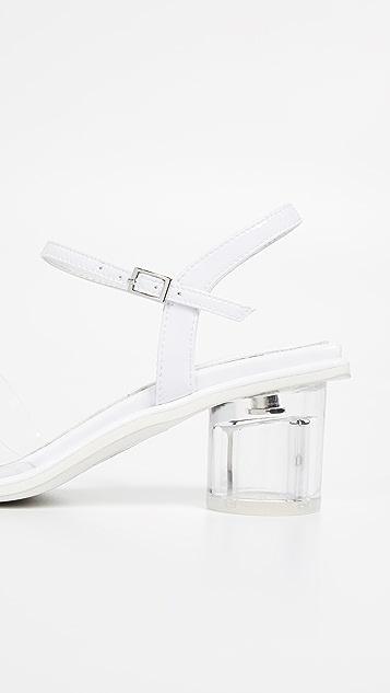 Jeffrey Campbell Futuro 乙烯树脂凉鞋