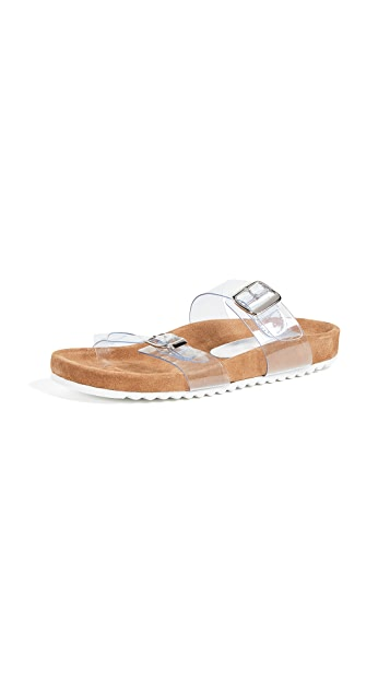 Jeffrey Campbell Maui V 乙烯树脂便鞋