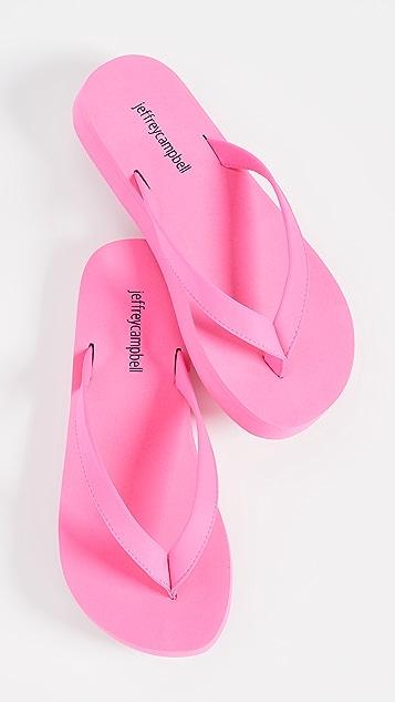 Jeffrey Campbell Surfin 夹趾凉鞋