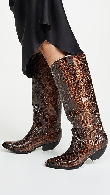 Jeffrey Campbell Calvera 西部风情高筒靴