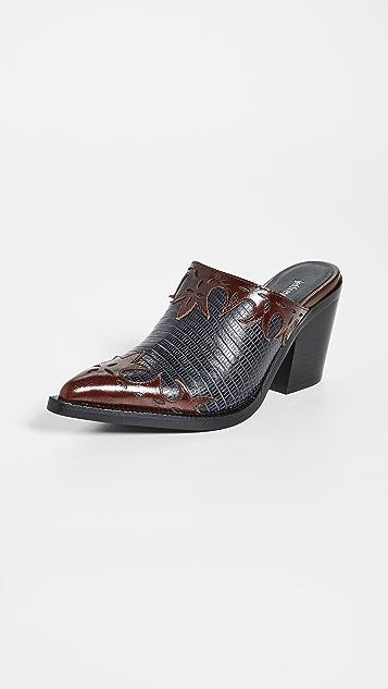 Jeffrey Campbell Tonto 西部风情穆勒鞋