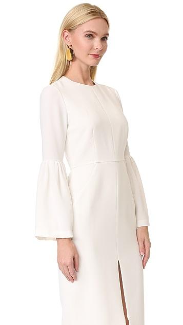 Jill Jill Stuart 喇叭袖连衣裙