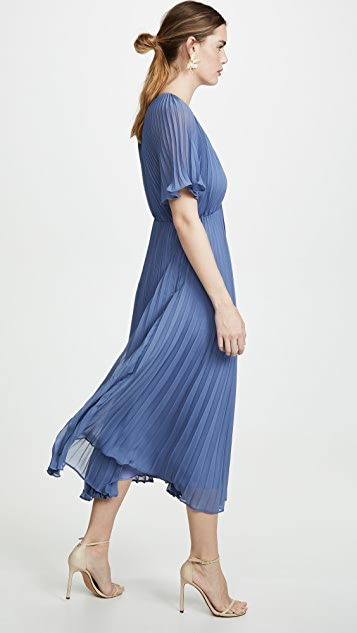 Jill Jill Stuart 褶皱礼服裙