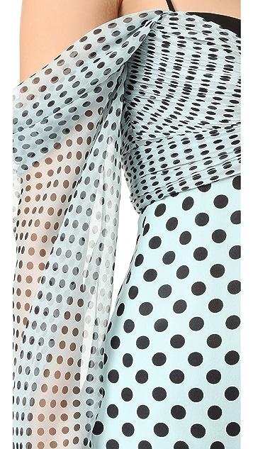 J. Mendel 束腰女式衬衫