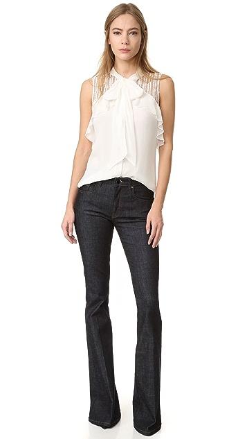J. Mendel 无袖女式衬衫