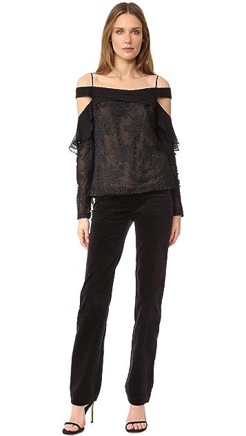 J. Mendel 垂褶女式衬衫