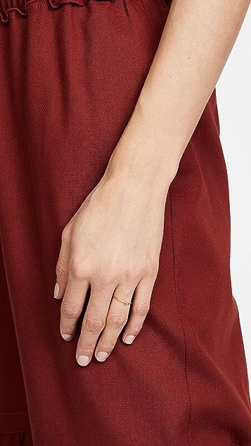 Jennifer Meyer Jewelry 18K 金绿松石细戒指