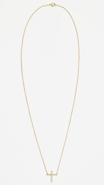 Jennifer Meyer Jewelry 细十字项链