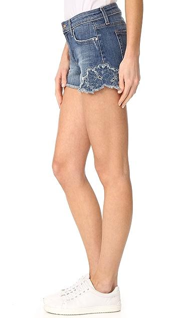 Joe's Jeans 刺绣超短裤