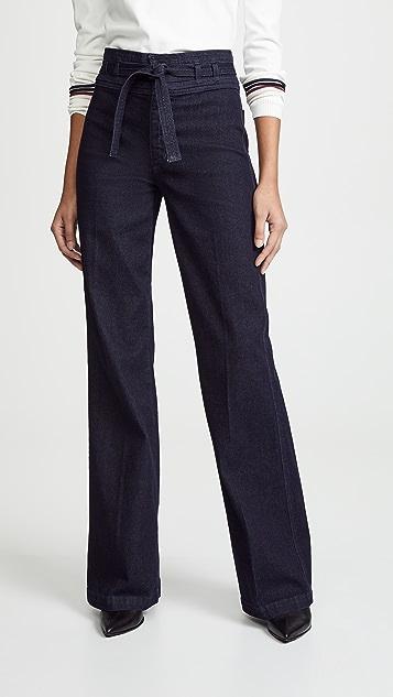 Joe's Jeans 高腰喇叭牛仔裤