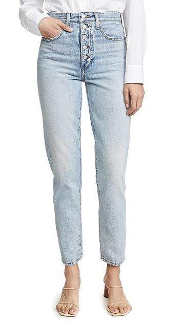 Joe's Jeans x We Wore What Danielle 高腰直脚牛仔裤