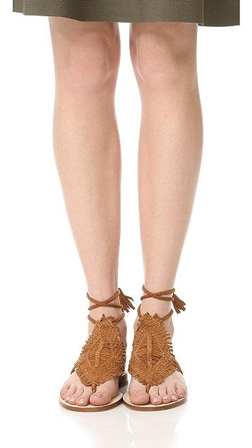 Joie Kacia 环绕式凉鞋