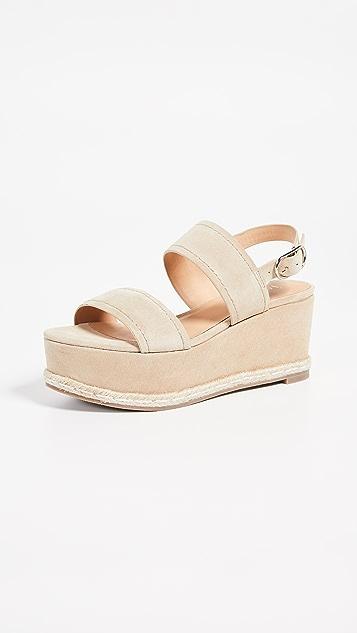 Joie Garland 厚底凉鞋