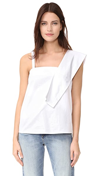 J.O.A. 不对称女式衬衫
